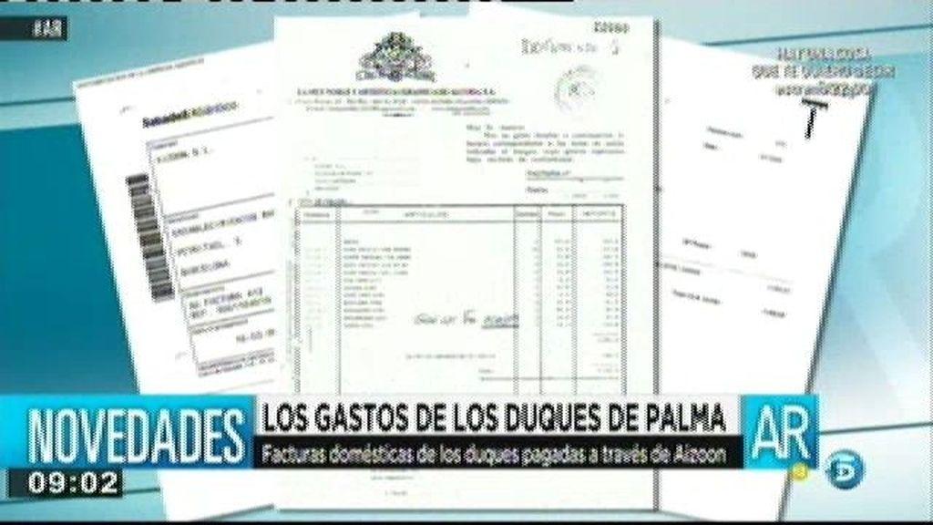 Los Duques de Palma pasaban gastos domésticos a través de Aizoon