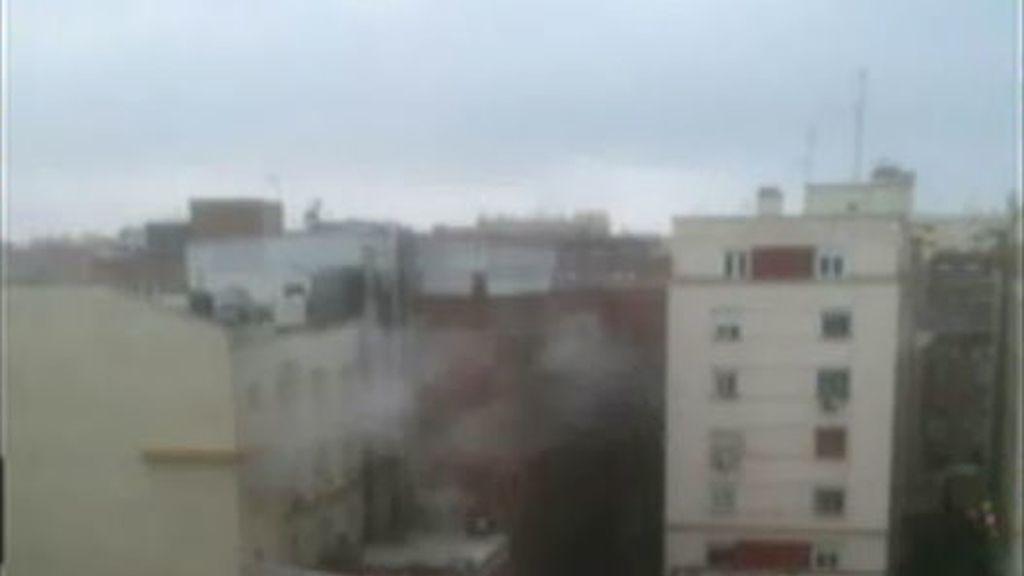 Se producen dos explosiones en la clínica La Milagrosa, donde está ingresado el Rey