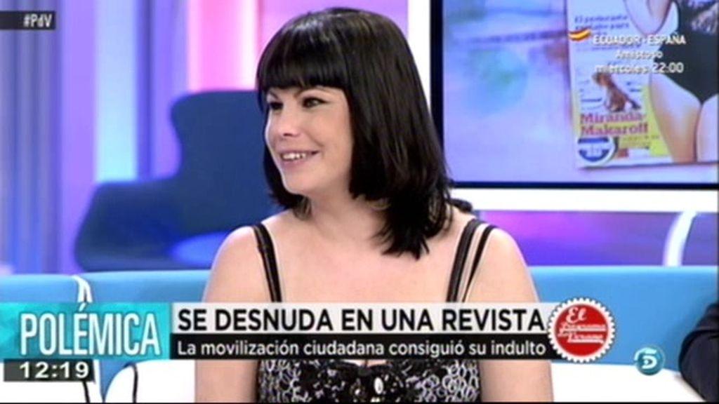 """Emilia Soria: """"Lo he hecho por mis hijas y por los que me apoyaron con el indulto"""""""