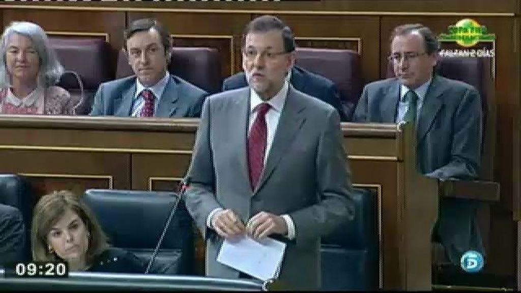 Rajoy y Rubalcaba hacen frente común