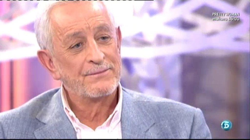 Juan Pardo reaparece en televisión