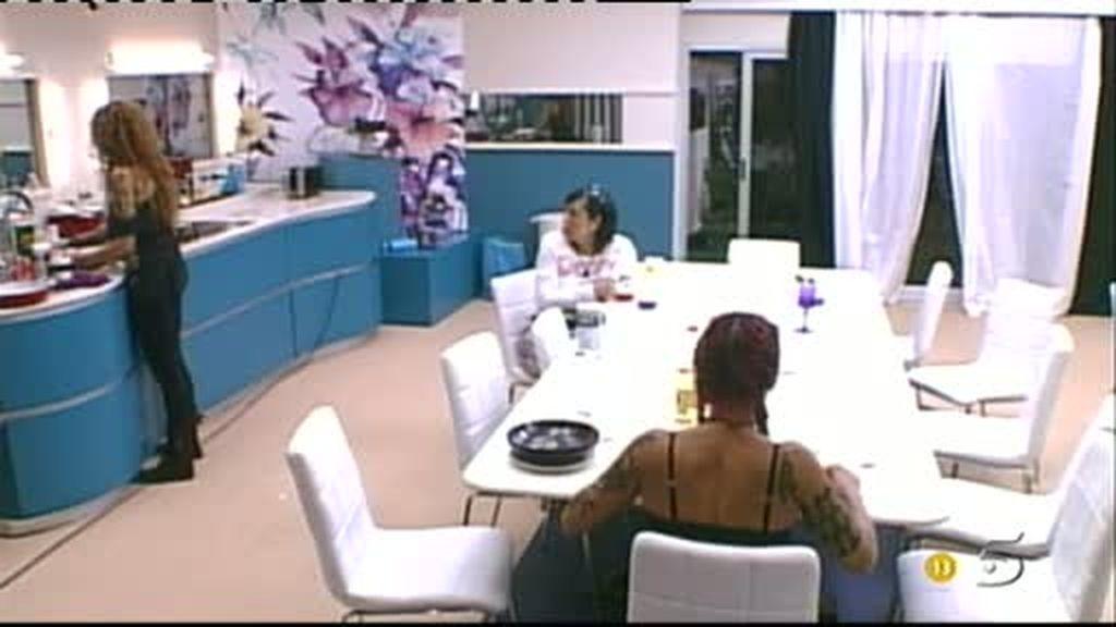 Sofi y Chiqui discuten