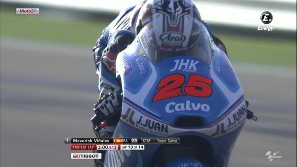 La FP1 de Moto3 en Aragón, a la carta
