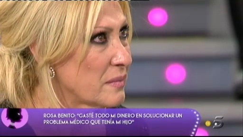 """Rosa: """"Antonio David ha mentido en todo"""""""