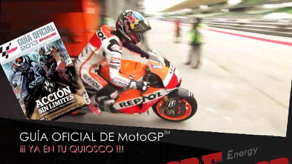 La Guía oficial de MotoGP, ya en tu Kiosco