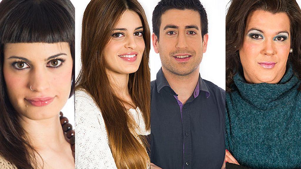 Raky, Susana, Igor y Desi, finalistas