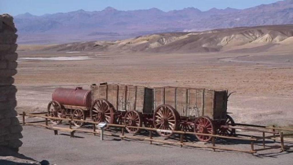 Borax, el oro blanco de Death Valley