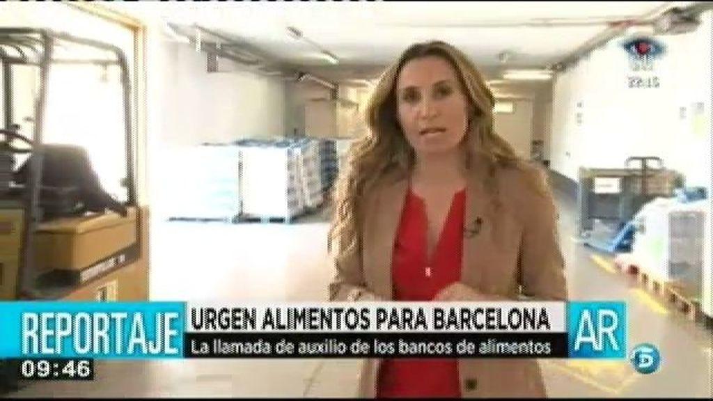 Urgen alimentos para Barcelona