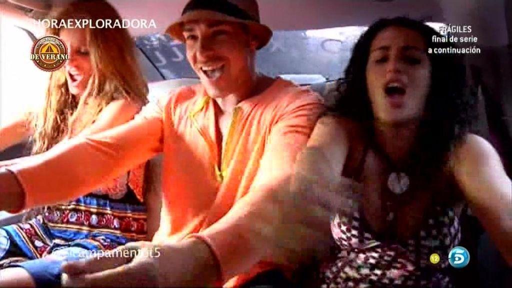 Sonia, Noe y Jacobo: locura en la autopista