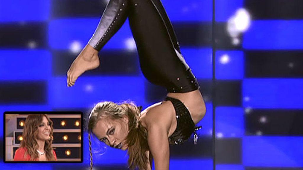 Dasha Sovik, 21 años, contorsionista