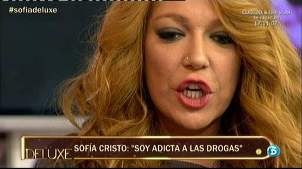 """Sofía Cristo: """"Voy a entrar en un centro de desintoxicación"""""""