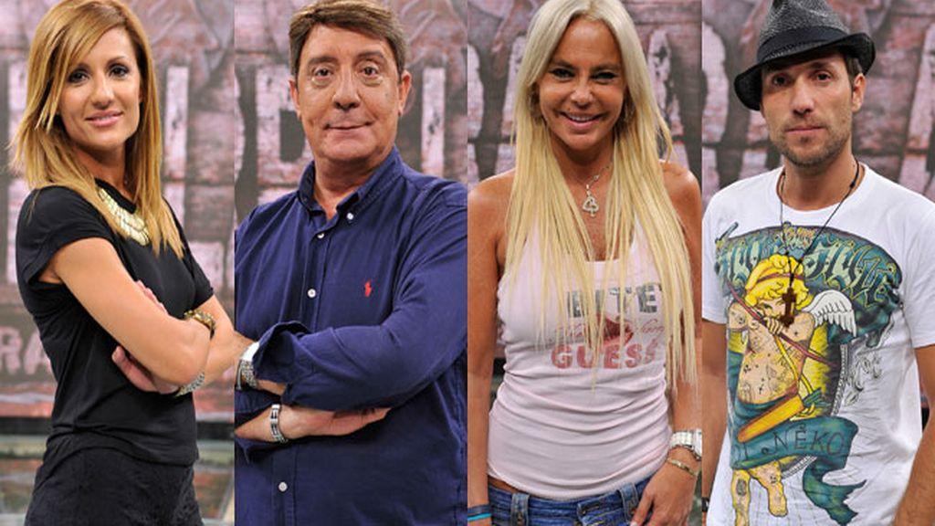 Nagore, A. David, Dioni y Leticia