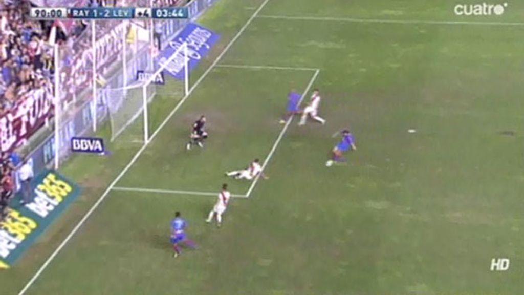 Gol de Ivanschitz (Rayo 1-2 Levante)