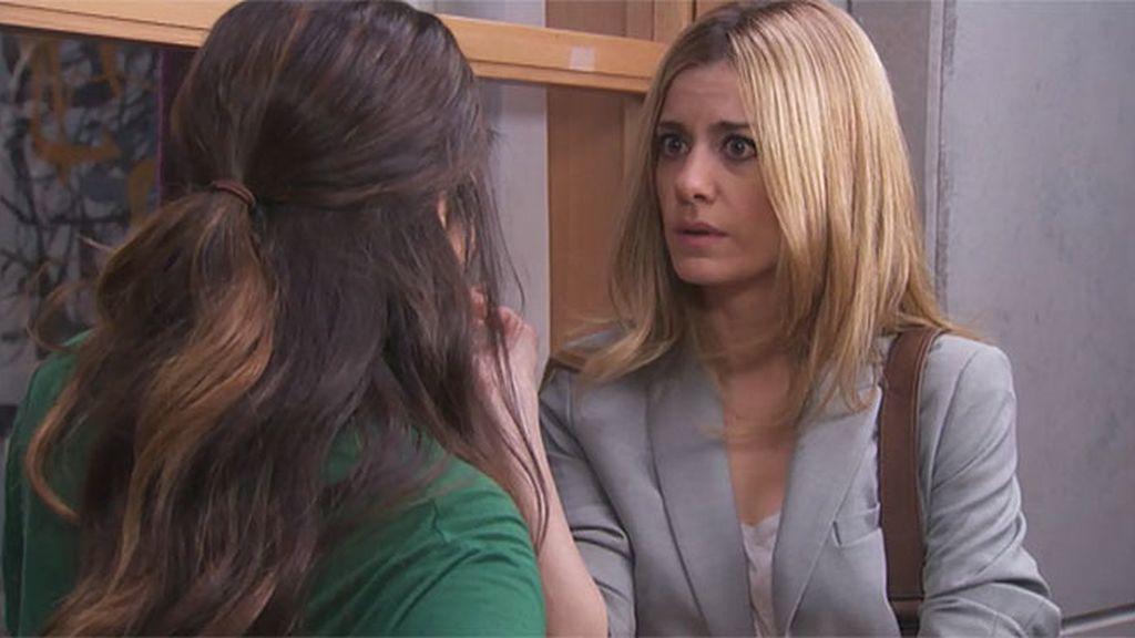 Malena no quiere que Lolo sepa la verdad