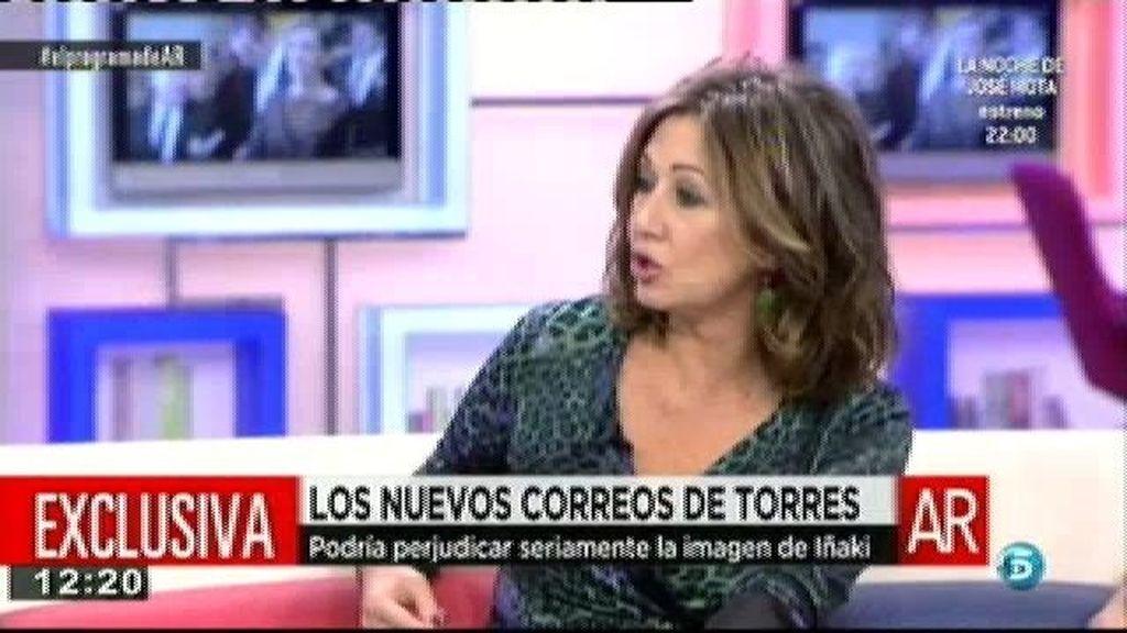 El juez va a solicitar a Urdangarin y Torres un listado de bienes, según Paloma García Pelayo