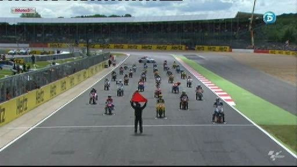 GP de Gran Bretaña: La carrera de Moto 3