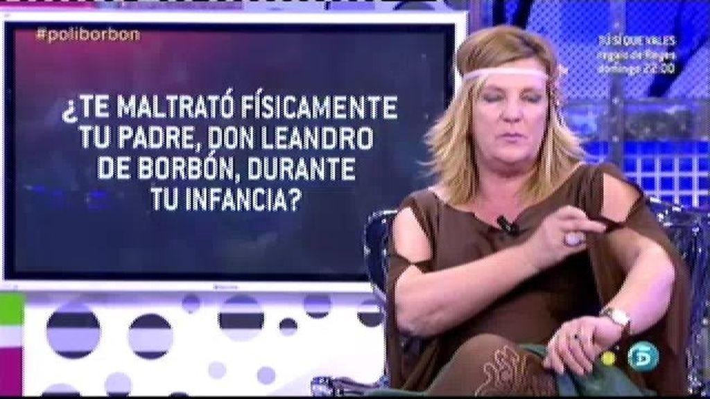 El 'polideluxe' confirma que Don Leandro de Borbón maltrató a Blanca durante su infancia