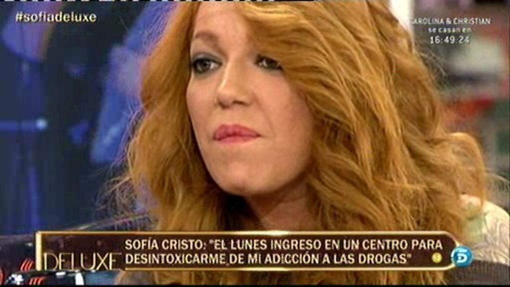 Las consecuencias de la droga en el cuerpo de Sofía Cristo