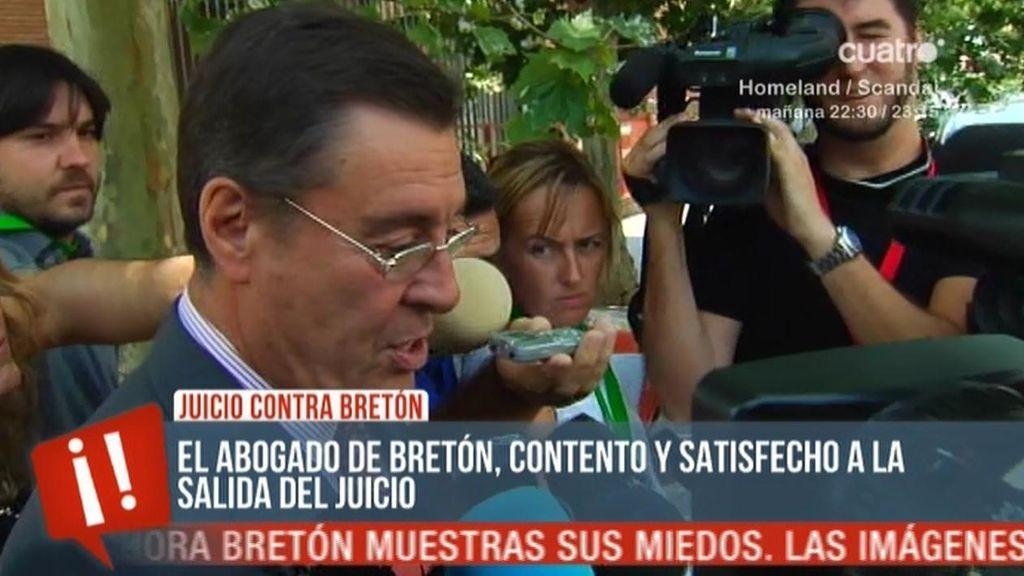 """El abogado de Bretón: """"Estoy contento"""""""