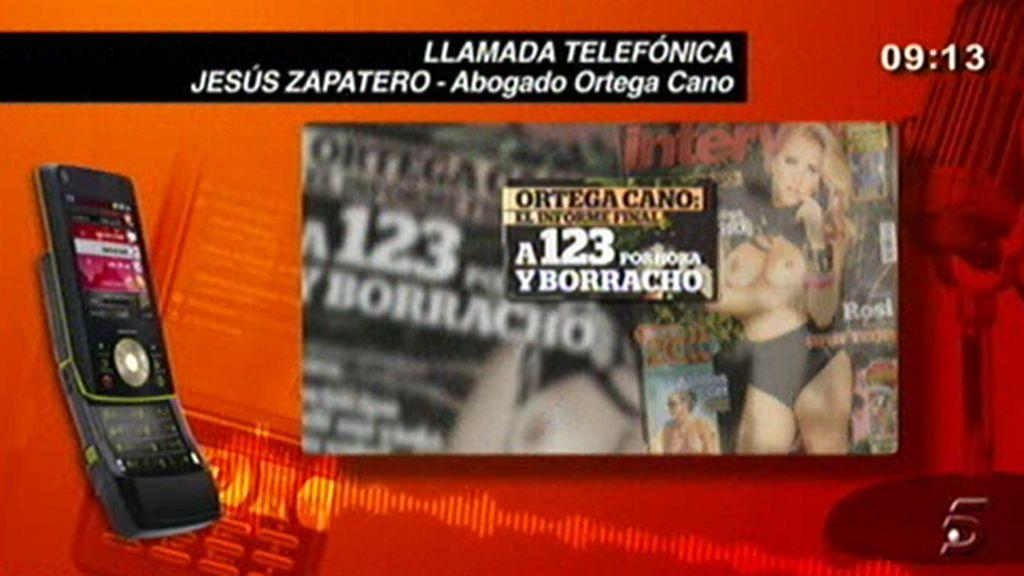La llamada de Jesús Zapatero
