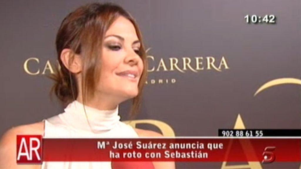 María José Suárez, soltera