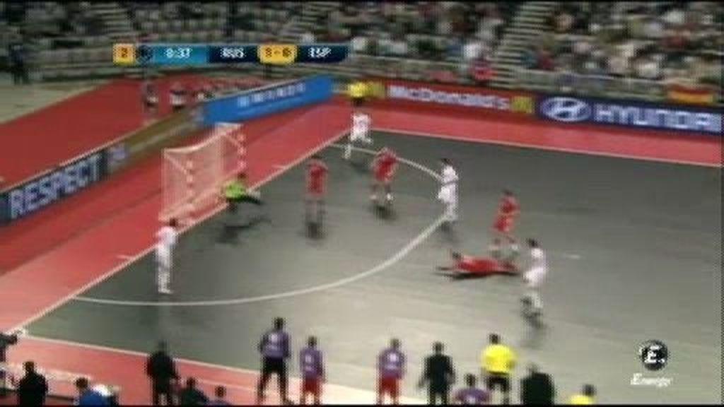 Gol de Lozano (1-1), minuto 39