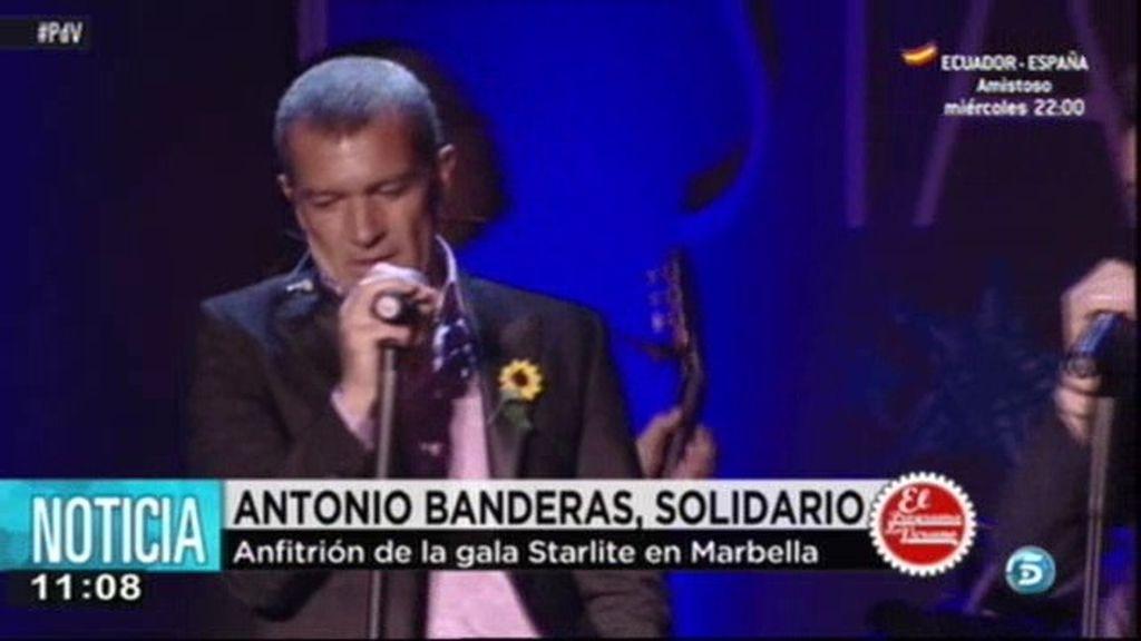 Antonio Banderas triunfa con su gala solidaria