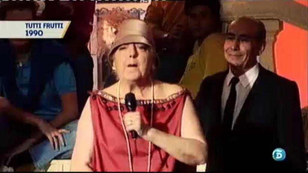 Mary Santpere introdujo el humor en el Cuplé