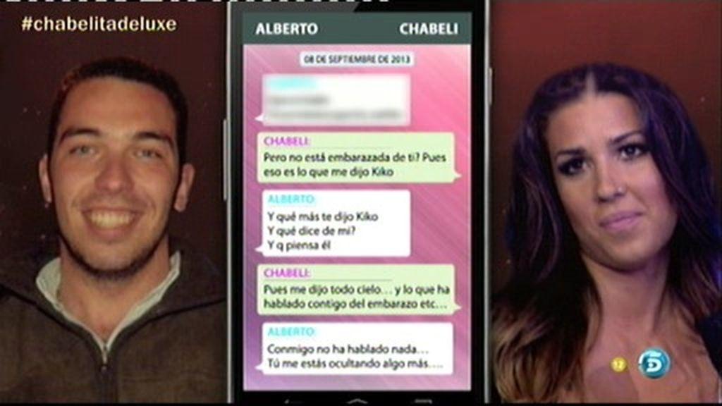 Las conversaciones de Alberto Isla con Chabeli, ex novia de Kiko Rivera