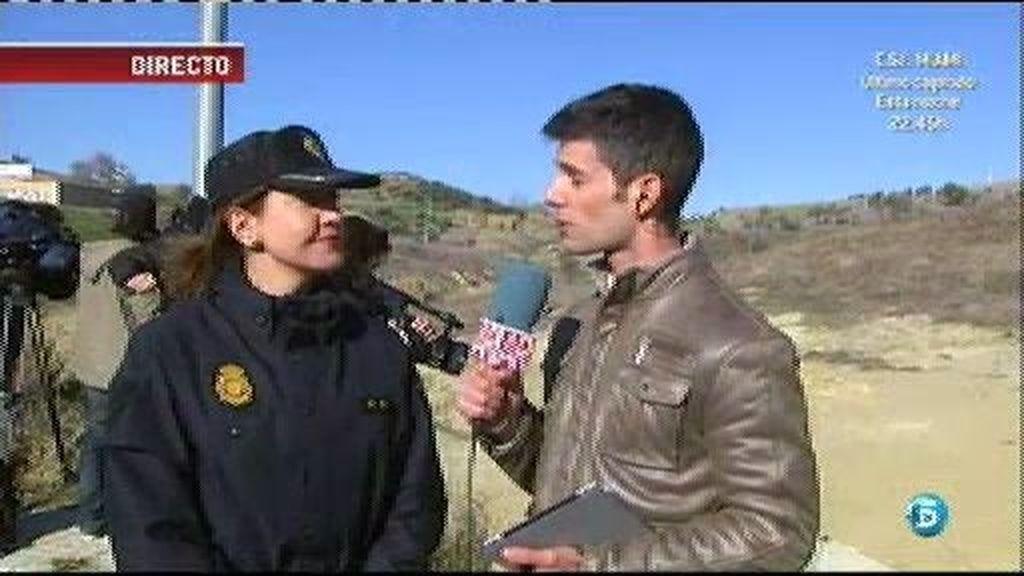 Ana Cambón, portavoz de la policía, confirma que no se van a utilizar escavadoras en la búsqueda de Marta