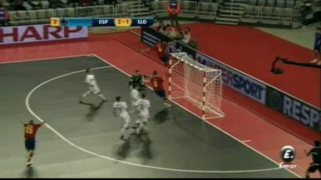 El 3-1, la tranquilidad para España