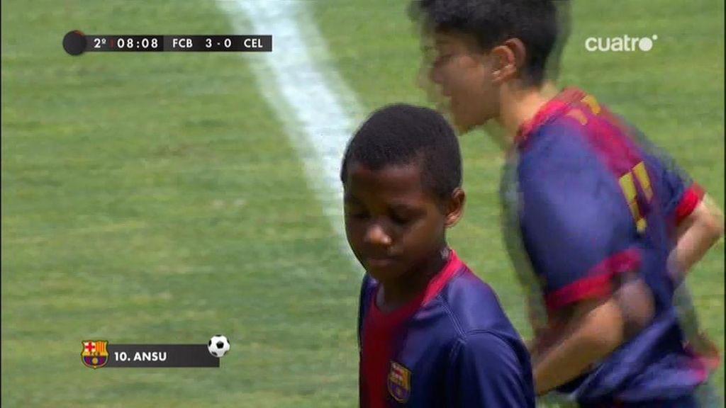 Gol: Barcelona 3-0 Celta (min.20)