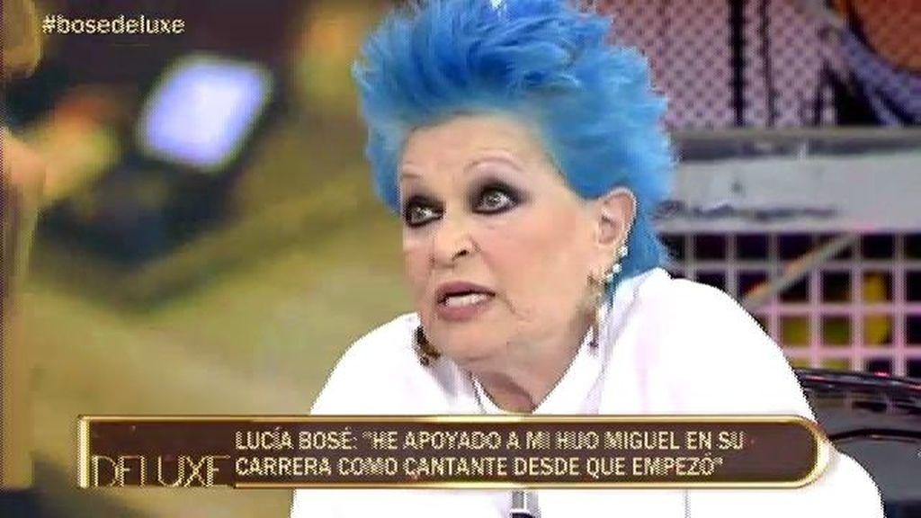 Lucía Bosé cree que Miguel irá a por la niña