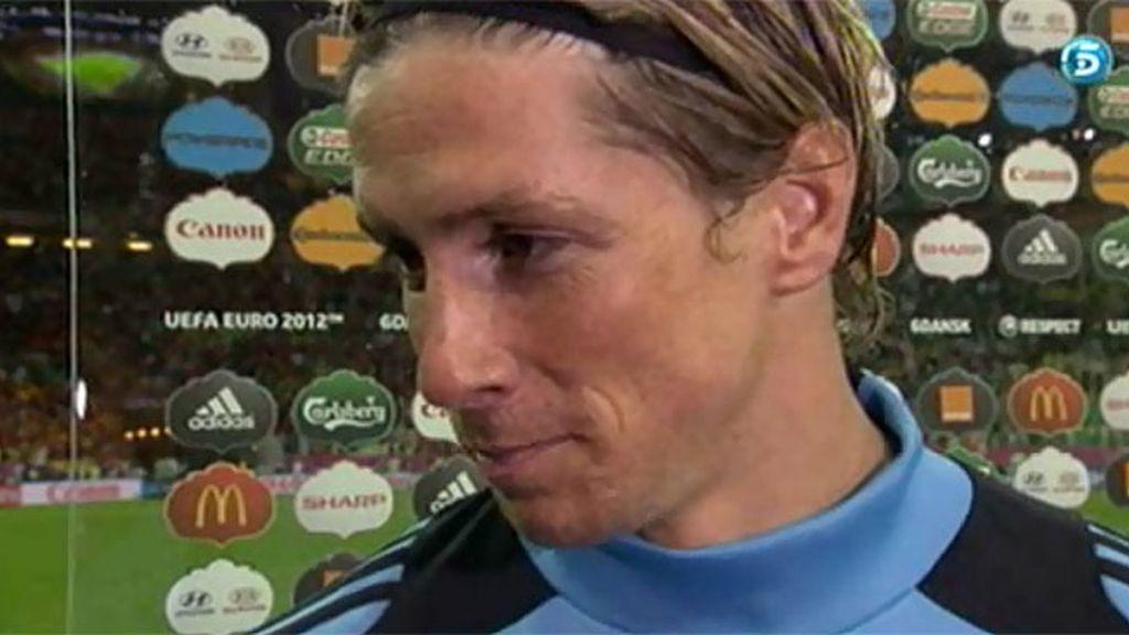 """Fernando Torres, sobre el debate del '9': """"Seguirá, eso no lo podemos parar"""""""