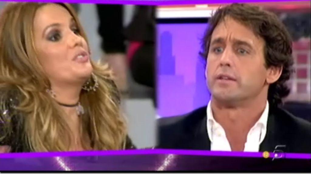 """Marta López, a Escassi: """"Vas de niño bueno y eres un mentiroso. Te acabas de subir a Saray de GH al camerino"""""""