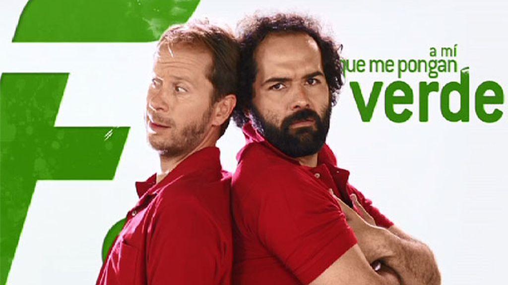 Alfonso Sánchez y Alberto López, protagonistas de 'I+B', se ponen verdes