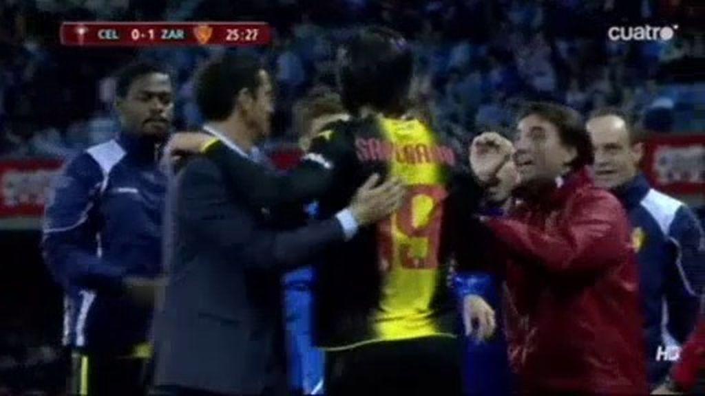 Sapunaru adelanta al Zaragoza