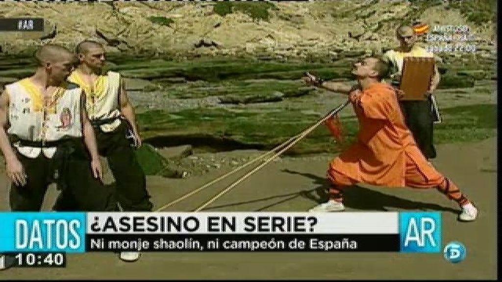 Ni monje shaolín, ni campeón de España, Aguilar era un impostor
