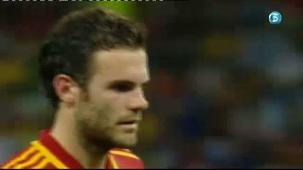 España 5-5 Italia (penalti de Mata)