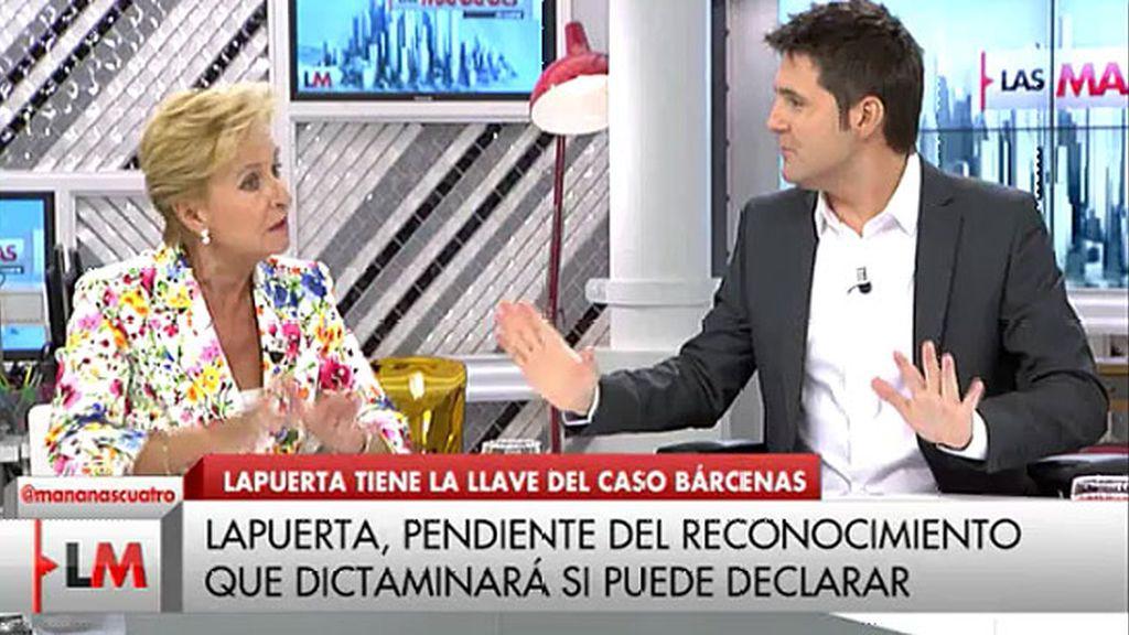 Carmen Quintanilla aclara: no cobra por acudir a 'Las Mañanas de Cuatro'