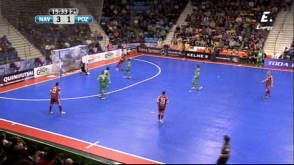 Gol de Juampi (Navarra 3-2 ElPozo)