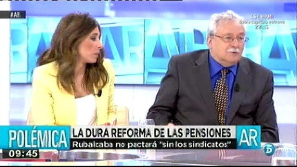 """Leguina: """"No se sostienen las pensiones con esta estructura por edades, hay que cambiar el método de reparto"""""""