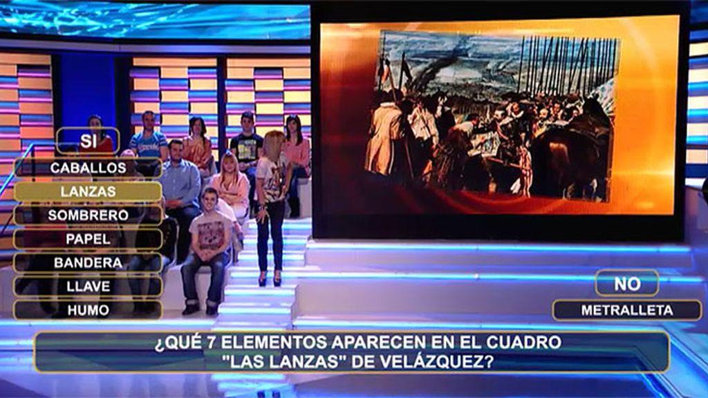 Luján, la azafata perfecta para 'Las Lanzas' de Velázquez