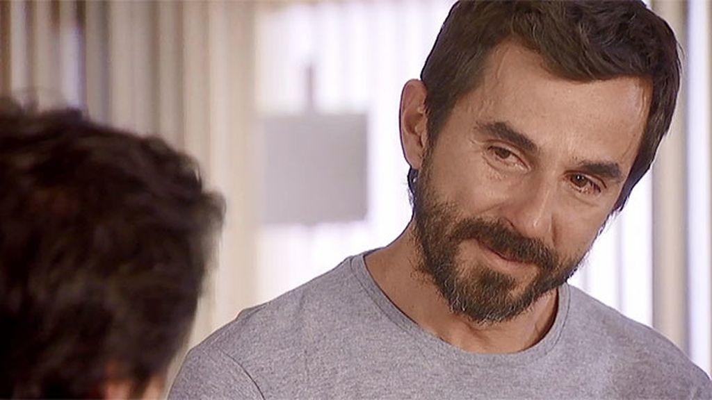 Pablo confiesa a Mario que sufre una aneurisma