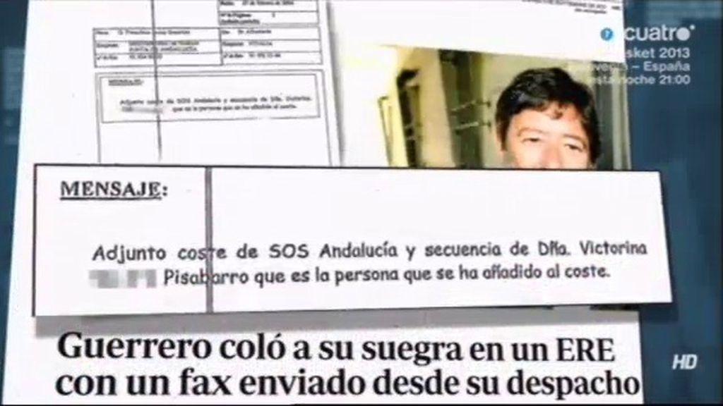 Guerrero niega haber mediado en la indemnización irregular de su suegra