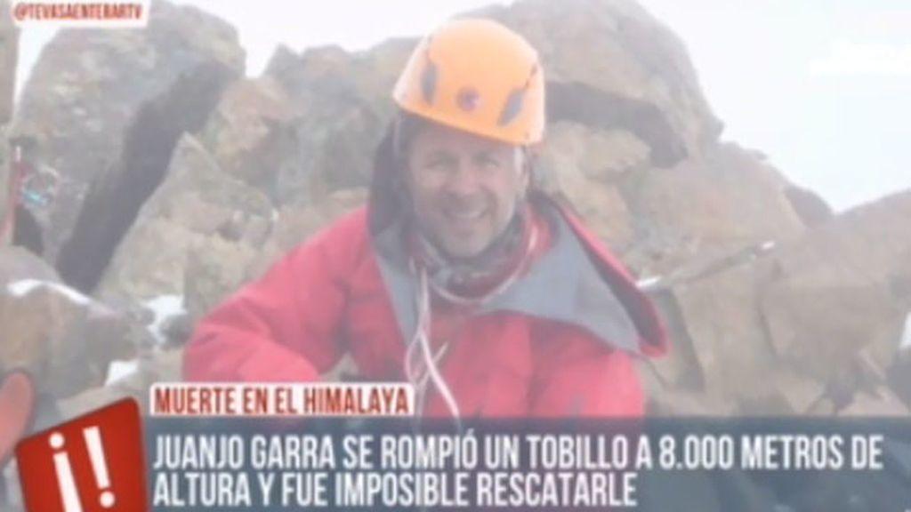 Fallece el alpinista Juanjo Garra