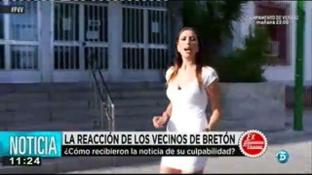 La reacción de los vecinos de Bretón