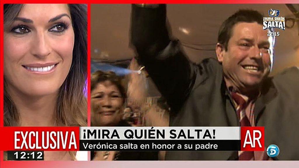 """Verónica Hidalgo: """"Todo se lo dedico a mi padre que sé que me está viendo desde ahí arriba"""""""