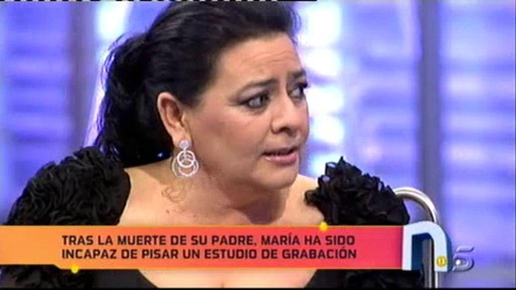 María del Monte presenta disco en 'La Noria'