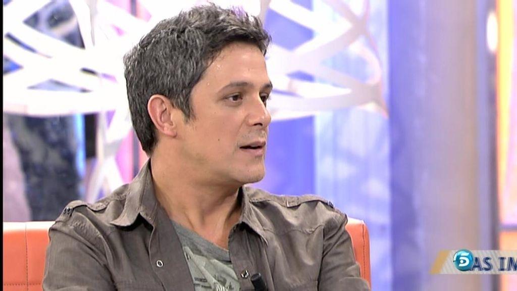 """Alejandro Sanz: """"No entiendo de qué se puede escribir una canción si no es de amor"""""""